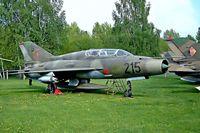 23 99 @ ETHT - Mikoyan-Gurevich MiG-21US Mongol-B [01685134] Cottbus~D 06/05/2002