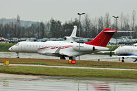 A6-BBD @ EGGW - 2009 Bombardier BD-700-1A10 Global Express, c/n: 9335 at Luton - by Terry Fletcher