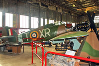 Z2389 @ EGLB - 1940 Hawker Hurricane IIA, c/n: Not found Z2389 at Brooklands Museum