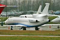 A6-MAF @ EGGW - 2007 Dassault Falcon 900EX, c/n: 183 at Luton - by Terry Fletcher