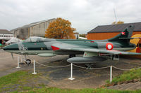 E-421 - Hawker Hunter F.51, c/n: 41H-680280 at Brooklands Museum - by Terry Fletcher