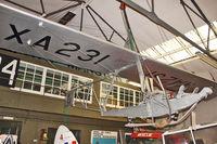 XA231 @ EGMH - Slingsby T-38 Grasshopper TX1, c/n: 864 at Manston Museum