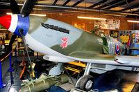 TB752 @ EGMH - TB752 (KH-Z), Supermarine 361 Spitfire LF.XVIe, c/n: CBAF.IX.4113 at Manston Memorial