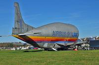 F-BTGV - Aero Spacelines Super Guppy 377-SGT-201, c/n: 1 at Bruntingthorpe