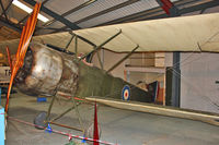 B619 @ EGMH - B619 (B619), Sopwith 1½ Strutter replica, c/n: replica at Manston Museum - by Terry Fletcher