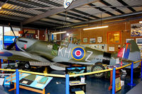 TB752 @ EGMH - TB752 (KH-Z), Supermarine 361 Spitfire LF.XVIe, c/n: CBAF.IX.4113 at Manston Museum