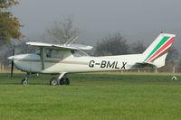 G-BMLX @ EGKH - 1971 Reims F150L, c/n: 0700 at Headcorn