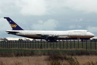 LV-AZF @ EGMH - Ex Southern Wings' Boeing 747-267B, c/n: 23048  WFU at Kent Int