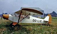 OO-LIE @ EBGB - Piper PA-18-95 Super Cub [18-1399] Grimbergen~OO 13/08/1977. Image taken from a slide.