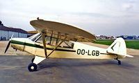OO-LGB @ EBAW - Piper PA-18-95 Super Cub [18-2060] Antwerp~OO 14/09/1985