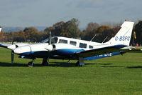 G-BSPG @ EGKH - 1980 Piper PA-34-200T Seneca II, c/n: 34-8070168