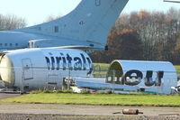 I-AIGM - Remains of 1988 Boeing 737-3Q8, c/n: 24299 at Bruntingthorpe