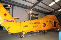 XS482 @ EGMH - Westland Wessex HU.5, c/n: WA156 at Manston Museum