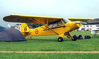 OO-SPQ @ EGTC - Piper L-18C-95 Super Cub [18-3118] Cranfield~G 04/07/1998