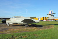WM366 - 1953 Gloster Meteor NF.13, c/n: 5616 recent repaint at Beech Restorations , Bruntingthorpe