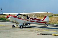 I-BALG @ LIRS - Piper PA-18-150 Super Cub [18-7609129] Grosseto~I 13/09/1999