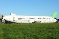 N858WL - Remains of 1990 Boeing 737-406, c/n: 24858 (ex PH-BDW) at Bruntingthorpe