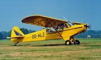 OO-ALZ @ EBDT - Piper L-18C-95 Super Cub [18-2083] Schaffen-Diest~OO 12/08/2000