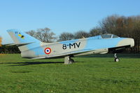 85 @ X3BR - 85 (8-MV), Dassault Mystère IVA, c/n: 85 - Gate Guardian at Bruntingthorpe