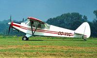 OO-VVC @ EBDT - Piper PA-18-150 [18-8286] Schaffen-Diest~OO 12/08/2000