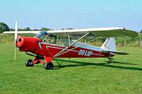 OO-LAP @ EBZH - Piper PA-18-150 Super Cub [18-8780] Kiewit-Hasselt~OO 16/08/2002