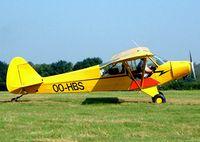 OO-HBS @ EBDT - Piper L-18C-95 Super Cub [18-1511] Schaffen-Diest~OO 17/08/2002