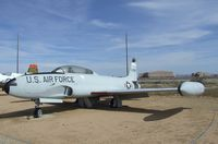 58-0669 - Lockheed T-33A at the Air Force Flight Test Center Museum, Edwards AFB CA - by Ingo Warnecke