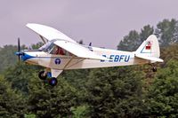 D-EBFU @ EBDT - Piper L-18C-95 Super Cub [18-3126] Schaffen-Diest~OO 12/08/2006 - by Ray Barber