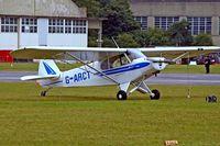 G-ARCT @ EGBP - Piper PA-18-95 Super Cub [18-7375] Kemble~G 20/08/2006 - by Ray Barber