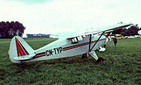 CN-TYP @ EGTH - Piper PA-20 Pacer [20-802] Old Warden~G 11/07/1982. Image taken from a slide.