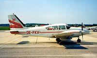 OE-FKV @ LOWW - Piper PA-23-250 Aztec C [27-2743] Vienna~OE 20/06/1995 - by Ray Barber