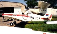 9A-BLF @ LDZL - Piper PA-25-235 Pawnee C [25-7305527] Lucko~9A 18/06/1996 - by Ray Barber