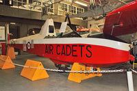 XA312 @ EGMH - 1953 Slingsby T-31B Cadet TX3, c/n: 854 - painted as VM791 at Manston Museum