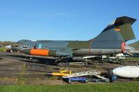 22 35 - Lockheed F-104G Starfighter, c/n: 683-7113 at Bruntingthorpe