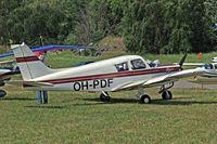 OH-PDF @ ESKB - Piper PA-28-140 Cherokee F [28-7325150] Barkarby~SE 07/06/2008