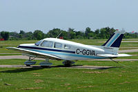 C-GGVA @ CNC3 - Piper PA-28-151 Cherokee Warrior [28-7615028] Brampton~C 23/06/2005 - by Ray Barber