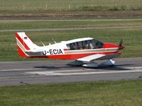 D-ECIA @ EDWG - Take of RWY10 at EDWG (Wangerooge) - by Volker Leissing