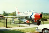 51-1786 - 1951 Republic F-84F Thunderstreak, 51-1786, at Air Power Park & Museum, Hampton, VA - by scotch-canadian