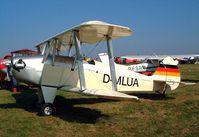 D-MLUA @ EBDT - Platzer Keibitz B [049] Schaffen-Diest~OO 17/08/2002 - by Ray Barber
