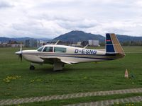 D-ESNB @ EDTF - Taxi to the hangar - by Volker Leissing
