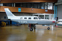 D-EOPG @ EDVY - Piper PA-46-350P Malibu Mirage JetPROP DLX [4622064] Porta Westfalica~D 24/05/2006 - by Ray Barber