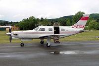 D-EVSM @ EDLI - Piper PA-46-350P Malibu Mirage JetPROP DLX [4622072] Bielefeld~D 24/05/2006 - by Ray Barber