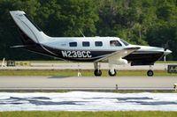 N239CC @ KLAL - Piper PA-46-350P Malibu Mirage [4636315] Lakeland-Linder~N 15/04/2010 - by Ray Barber