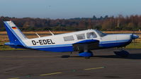 D-EDEL @ EGLK - UK-based German registered Cherokee Six at Blackbushe - by Michael J Duffield