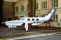 D-EOBV @ EDDI - Piper PA-46-310P Malibu [46-8508095] Berlin-Templehof~D 18/05/1998 - by Ray Barber
