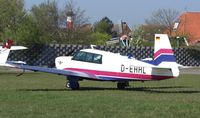 D-EHHL @ EDWG - Parking an Apron at eastern - by Volker Leissing
