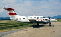 OE-FAA @ LOWG - Piper PA-42-720 Cheyenne IIIA [42-5501057] Graz~OE 19/06/1996