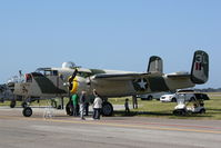 N62163 @ KMCF - B-25 Mitchell Killer B on display at MacDill AirFest - by Jim Donten