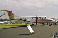 N24706 @ EGLF - Embraer EMB-120RT Brasilia at the Farnborough Air Show in 1988. - by Malcolm Clarke