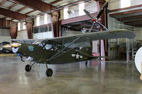 N2581B @ MAF - At the Commemorative Air Force hangar - Mildand, TX